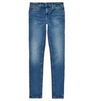 Oblačila Deklice Jeans skinny Tommy Hilfiger JEANNOT Modra
