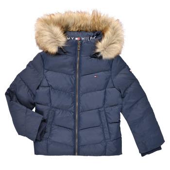 Oblačila Deklice Puhovke Tommy Hilfiger RESTRI Modra