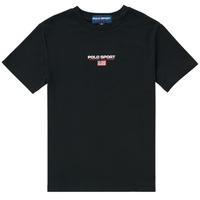 Oblačila Dečki Majice s kratkimi rokavi Polo Ralph Lauren ANNITA Črna