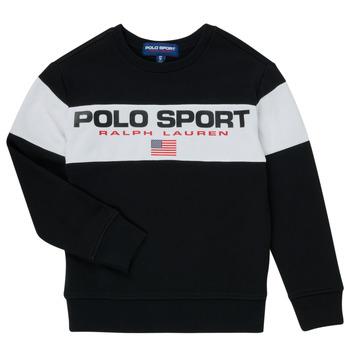 Oblačila Dečki Puloverji Polo Ralph Lauren SIMEON Črna