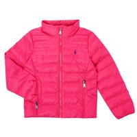 Oblačila Deklice Puhovke Polo Ralph Lauren PERTUN Rožnata