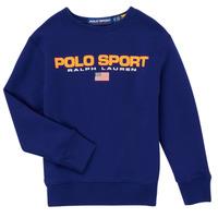 Oblačila Dečki Puloverji Polo Ralph Lauren SENINA Modra