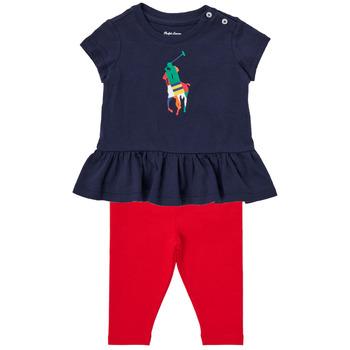 Oblačila Dečki Otroški kompleti Polo Ralph Lauren BETINA Večbarvna