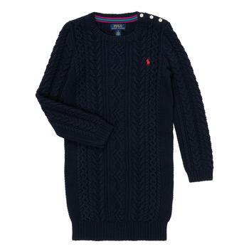 Oblačila Deklice Kratke obleke Polo Ralph Lauren RURBE Modra