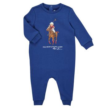 Oblačila Dečki Kombinezoni Polo Ralph Lauren KATRINA Modra