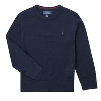 Oblačila Dečki Puloverji Polo Ralph Lauren DENILA Modra