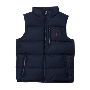 Oblačila Dečki Puhovke Polo Ralph Lauren SOLEDDA Modra