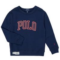 Oblačila Dečki Puloverji Polo Ralph Lauren KAMILLAR Modra