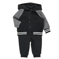 Oblačila Dečki Otroški kompleti Polo Ralph Lauren DENILO Črna / Siva