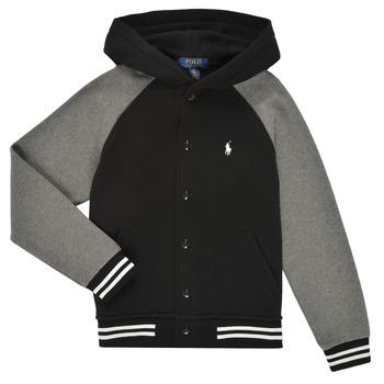 Oblačila Dečki Puloverji Polo Ralph Lauren DENINO Črna / Siva