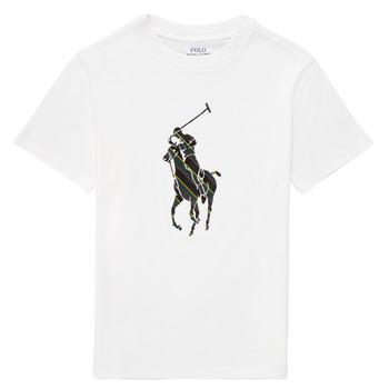 Oblačila Dečki Majice s kratkimi rokavi Polo Ralph Lauren GUILIA Bela