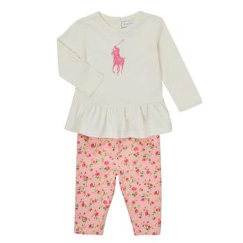 Oblačila Deklice Otroški kompleti Polo Ralph Lauren FRENNO Večbarvna