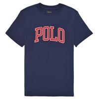 Oblačila Deklice Majice s kratkimi rokavi Polo Ralph Lauren MATIKA Modra