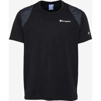 Oblačila Moški Majice s kratkimi rokavi Champion CAMISETA HOMBRE  KK001 Črna