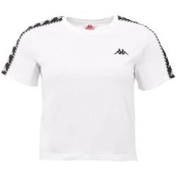 Oblačila Ženske Majice s kratkimi rokavi Kappa Inula Tshirt Bela