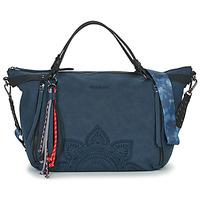 Torbice Ženske Ročne torbice Desigual AQUILES LIBIA Modra