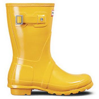 Čevlji  Ženske škornji za dež  Hunter Original Short Gloss - Nizki Ženski Škornji 2