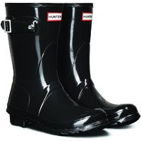 Čevlji  Ženske škornji za dež  Hunter Original Short Gloss - Nizki Ženski Škornji 38