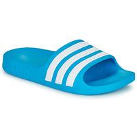 Čevlji  Otroci Natikači adidas Performance ADILETTE AQUA K Modra / Bela