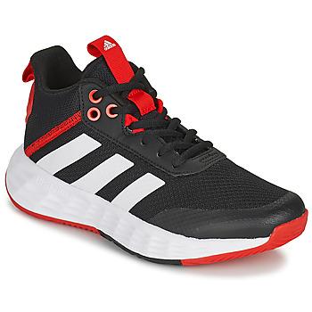 Čevlji  Otroci Košarka adidas Performance OWNTHEGAME 2.0 K Črna / Rdeča