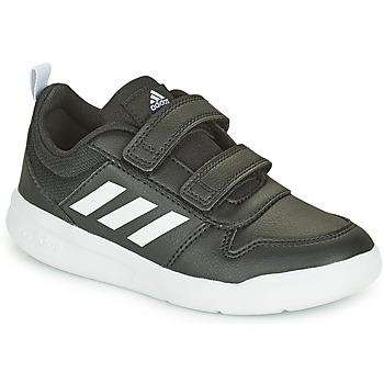 Čevlji  Otroci Nizke superge adidas Performance TENSAUR C Črna / Bela