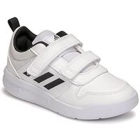 Čevlji  Otroci Nizke superge adidas Performance TENSAUR C Bela / Črna