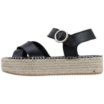 Čevlji  Ženske Sandali & Odprti čevlji Senses & Shoes  Črna