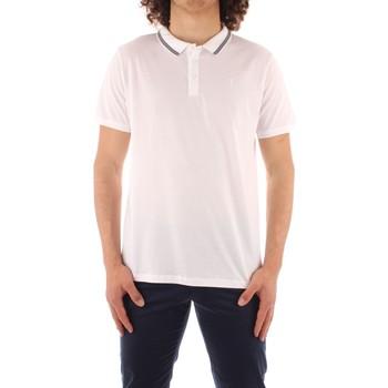 Oblačila Moški Polo majice kratki rokavi Trussardi 52T00501 1T003602 WHITE