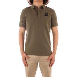 Oblačila Moški Polo majice kratki rokavi Blauer 21SBLUT02329 GREEN