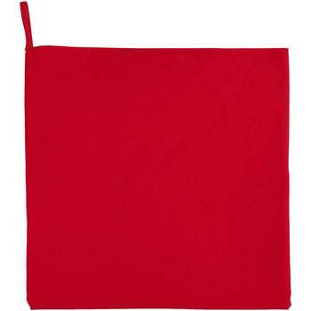 Dom Kopalniške brisače in rokavice za umivanje Sols ATOLL 30 ROJO Rojo