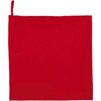 Dom Kopalniške brisače in rokavice za umivanje Sols ATOLL 70 ROJO Rojo