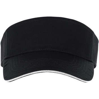 Tekstilni dodatki Kape s šiltom Sols ACE NEGRO Y BLANCO Negro