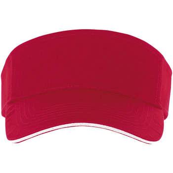 Tekstilni dodatki Kape s šiltom Sols ACE ROJO Y BLANCO Rojo