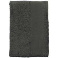 Dom Kopalniške brisače in rokavice za umivanje Sols BAYSIDE 100 Gris Oscuro Gris