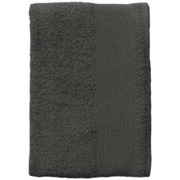 Dom Kopalniške brisače in rokavice za umivanje Sols BAYSIDE 50 Gris Oscuro Gris