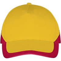 Tekstilni dodatki Kape s šiltom Sols BOOSTER Amarillo Rojo Amarillo