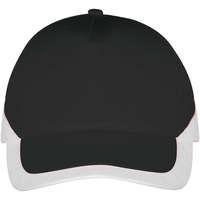Tekstilni dodatki Kape s šiltom Sols BOOSTER Negro Blanco Negro