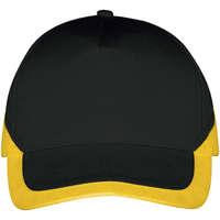 Tekstilni dodatki Kape s šiltom Sols BOOSTER Negro Amarillo Negro