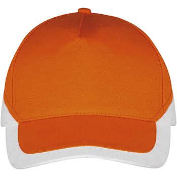 Tekstilni dodatki Kape s šiltom Sols BOOSTER Naranja Blanco Naranha