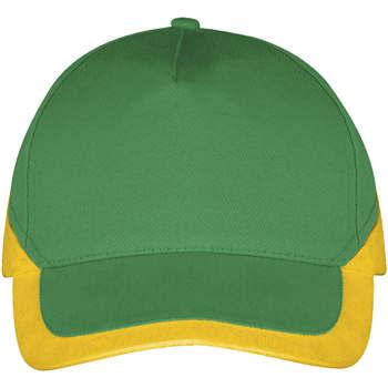 Tekstilni dodatki Kape s šiltom Sols BOOSTER Verde Pradera Amarillo Verde