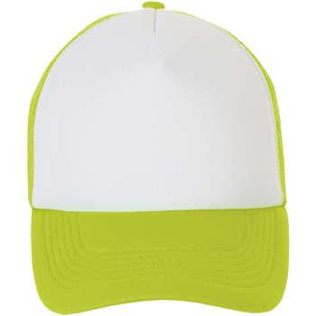 Tekstilni dodatki Kape s šiltom Sols BUBBLE Blanco Verde Neon Verde
