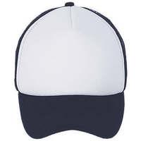 Tekstilni dodatki Kape s šiltom Sols BUBBLE Blanco French Marino Azul