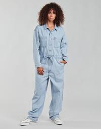 Oblačila Ženske Kombinezoni Levi's ROOMY JUMPSUIT Modra