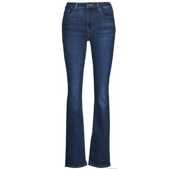 Oblačila Ženske Kavbojke bootcut Levi's 726 HIGH RISE BOOTCUT Modra