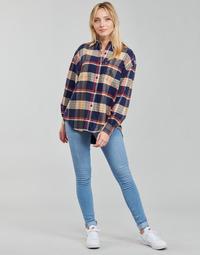 Oblačila Ženske Jeans skinny Levi's 712 SKINNY Modra