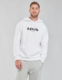 Oblačila Moški Puloverji Levi's T2 RELAXED GRAPHIC PO Bela