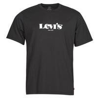 Oblačila Moški Majice s kratkimi rokavi Levi's SS RELAXED FIT TEE Črna