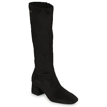 Čevlji  Ženske Visoki škornji Les Tropéziennes par M Belarbi DOTY Črna
