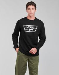Oblačila Moški Puloverji Vans FULL PATCH CREW II Črna