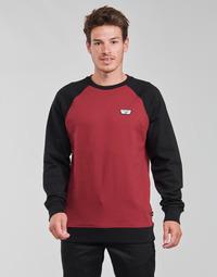 Oblačila Moški Puloverji Vans RUTLAND III Bordo / Črna